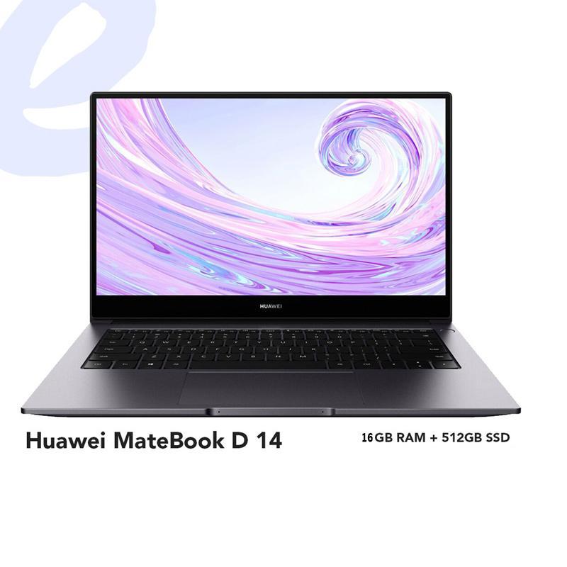 Huawei Matebook D14 (16GB+512GB SSD)